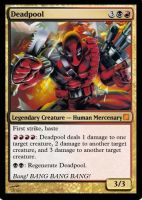 Deadpool MTG by southee