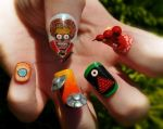Mars Attacks! Nail Art by KayleighOC