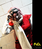 FLCL - Stalker by cafe-lalonde