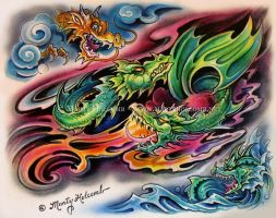 Dragon Breath by Artistic-Tattooing