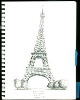 Eiffel Tower by Rayleighev
