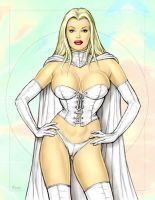 Emma Frost by Jaworski by Mythical-Mommy