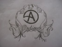 Criss Angel tattoo design 2 by miss-marlies