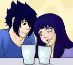 SasuHina Month Day 20: Milkshakes by VictimRose