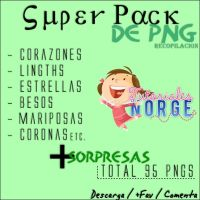 SUPER PACK DE PNG. by Norgelys