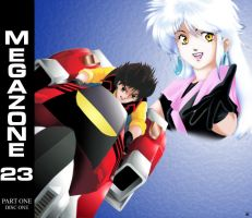 Megazone23 VCD cover 1 of 6 by GrendelRoach