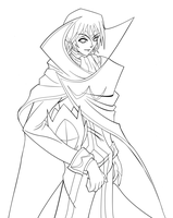 Lelouch vi Britannia- outline by rithgroove