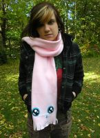 MONSTER SCARF by loveandasandwich