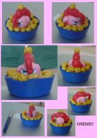 Pinkie Pie Forever! Sculpture by gileda