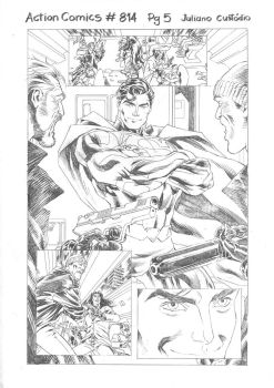 Action Comics #814 Pg 5 by julianocstd