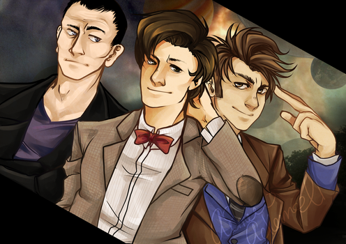 Doctor Who? by aomaoe