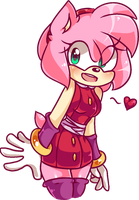 Sonic Boom Amy Pixel by SmoothieCakes