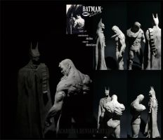 BATMAN : scars by AlbertoCarrera