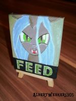 Tiny Chrysalis - FEED by Marcoon1305