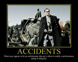 Accidents II Motivational Poster by DaVinci41
