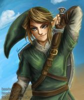 Link - The Legend of Zelda by kozmica64
