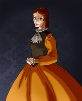 The Widow was brightly dressed by skelly-jelly