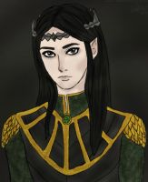 the Dark Prince of Gondolin by anepotter