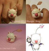 Kupo Moogle from FF13 ring by lkcrafts