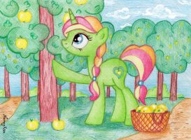 Delicious Apple Morning by NancyKsu