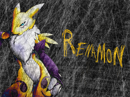 Underground Renamon by RedSoul77