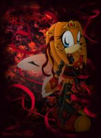 Tikal the Scary Fairy by Myzien