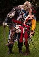 James Kidd and Edward Kenway Cosplay by firedrack