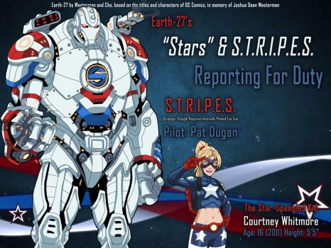 [Earth-27] Stars and S.T.R.I.P.E.S. by Roysovitch