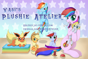 Plushie Atelier banner by Evomanaphy