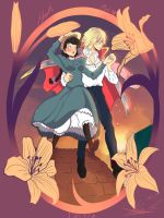 howl's moving castle by Invader-celes