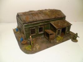 Cabin, Front by FruFruHM