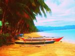 Boracay Boats by NeonXNights