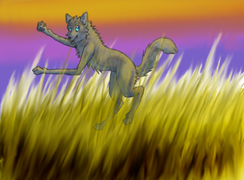 Happy Wolf for Bambii-lea by Faustina13