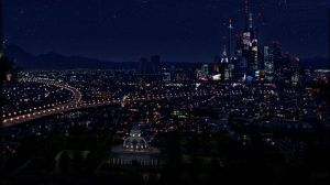 Cartoon Network City - Night by CartoonNetworkCity