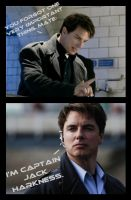 I'm Captain Jack Harkness by calceil