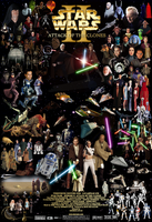 Star Wars Episode II poster by EmSeeSquared