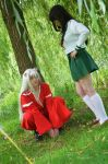 CosDay 2014 Sunday ~ Inuyasha and Kagome by Kawaii-Fruit