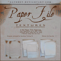 Paper File Textures by GatoDet