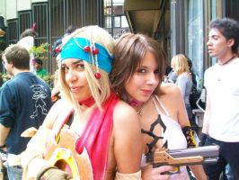 Rikku and yunie cosplay YuRiPa by ange-lady-yunashe