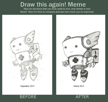 Medibot Before and After by TalentlessHacked