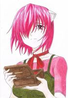 Lucy (Elfenlied) by yotamono-chan