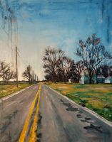 Roads: Midwest Straight by emmekamalei