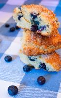 Blueberry Scones by noregretting91