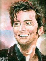 David Tennant by iggytheillustrator