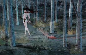 Arayanna in the Forest - Updated by feori