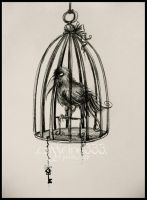 in your cage by caffeine333