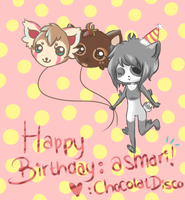 .::HBD::. asmari by ChocolatDisco