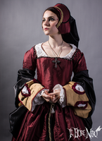 Tudor court dress by DanielleFioreModel
