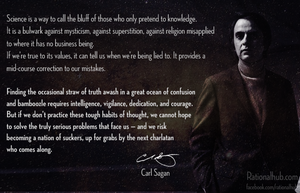 Carl Sagan on Science and skepticism.. by rationalhub