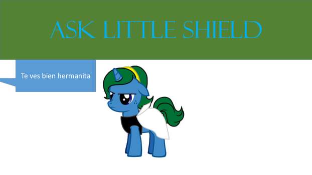 Ask Little Shield by darq2225